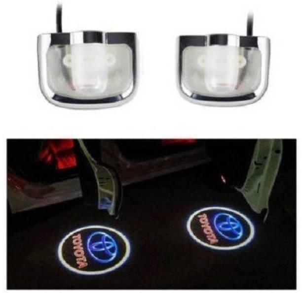 graceride TOYOTA Logo Shadow Door Light/Ghost Shadow Door Light For All TOYOTA Cars (works with all cars) Car Fancy Lights