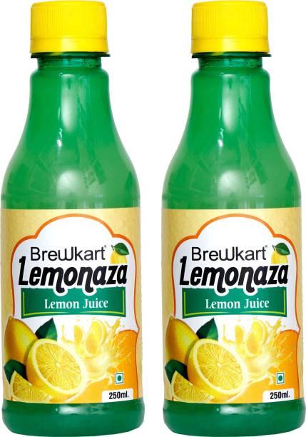 Brewkart Lemonaza Lemon Juice Pack of 2
