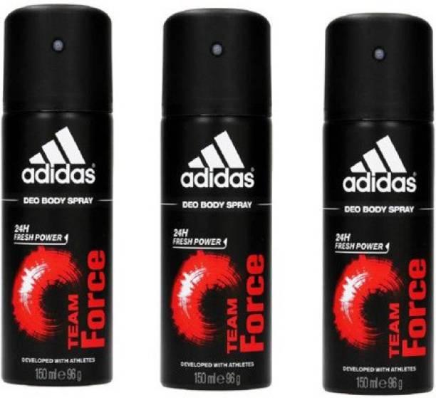 ADIDAS 3teamforce deo st4 Deodorant Spray  -  For Men
