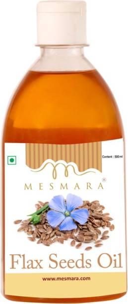 Mesmara Flax Seed Oil Cold Pressed Flaxseed Oil PET Bottle