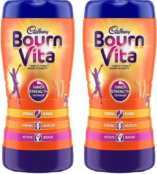 Cadbury Bournvita Health 500 Gm Pack of 2 Energy Drink