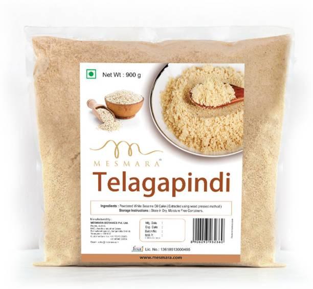 Mesmara Telagapindi (Defatted White Sesame Oil Cake)