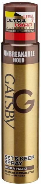 Gatsby Set and Keep Spray Ultra Hard Hair Spray
