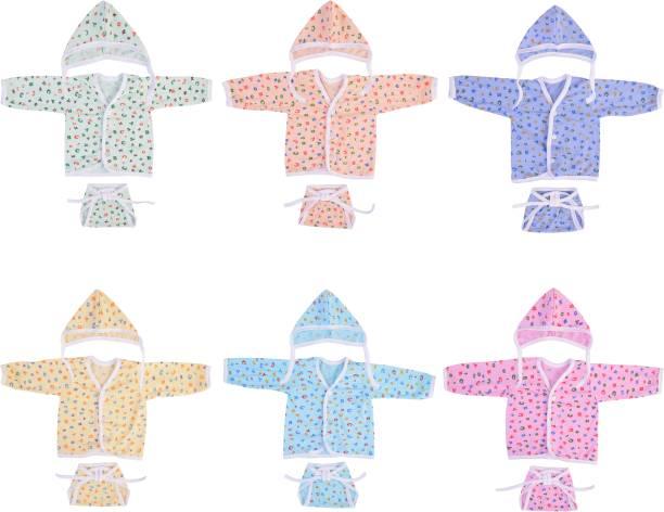 BANTOO New Born Unisex Baby Daily Use clothing combo