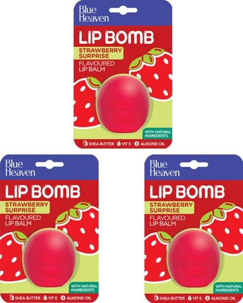 BLUE HEAVEN Lip Bomb Strawberry Fruity