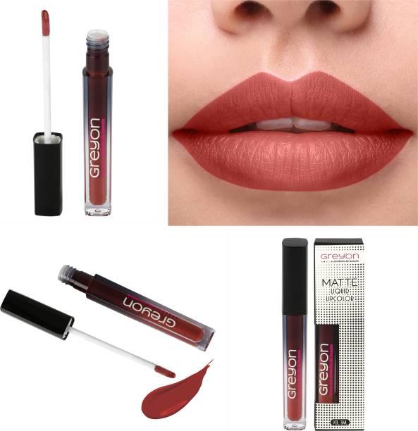 Greyon Premium Matte Liquid Lipstick 11