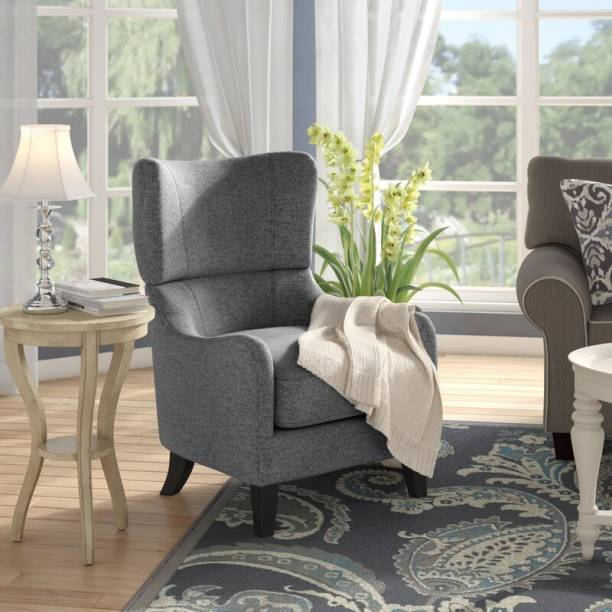 Febonic QUENDIT Solid Wood Living Room Chair