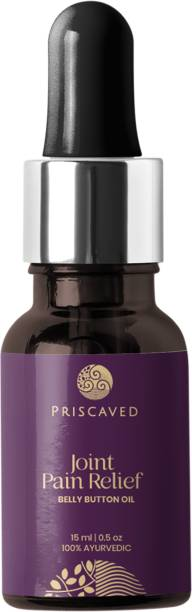 Priscaved Joint Pain Relief Belly Button Oil