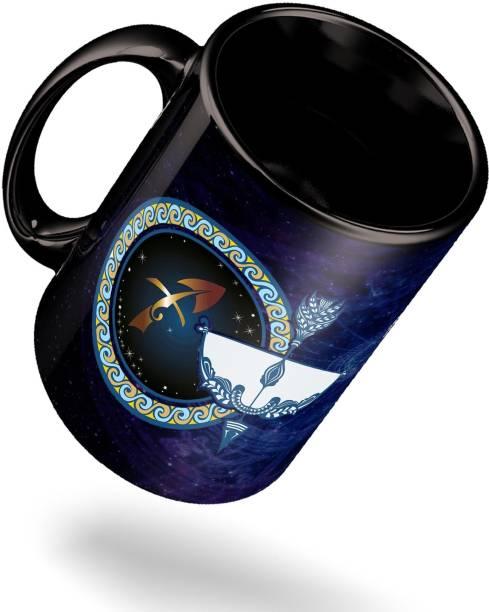 ECFAK Zodiac Sagittarius Ceramic Coffee Mug