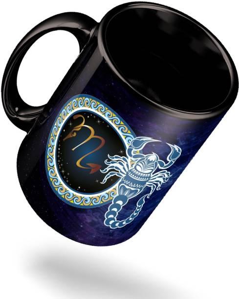 ECFAK Zodiac Scorpio Ceramic Coffee Mug