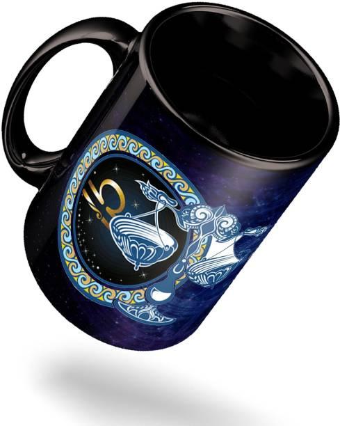 ECFAK Zodiac Libra Ceramic Coffee Mug