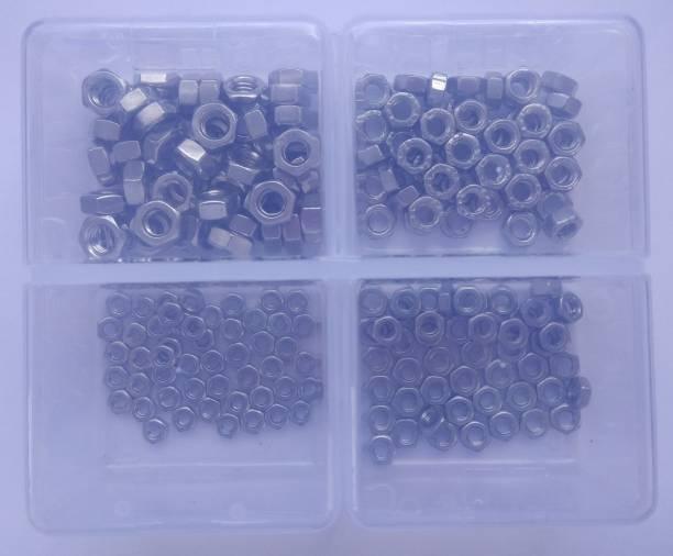 GSK Cut Nut S202 Hex Nut 200 pcs, M3 / M4 / M5 / M6 Set Kit