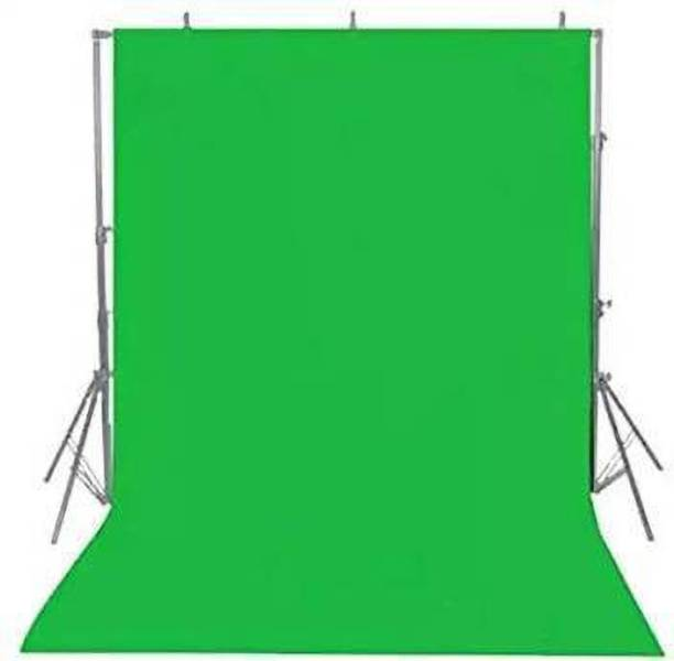ALFASIYA Green Backdrop 8 X 10.5 Feet Lycra Cloth Background For VFX Editing Reflector Reflector