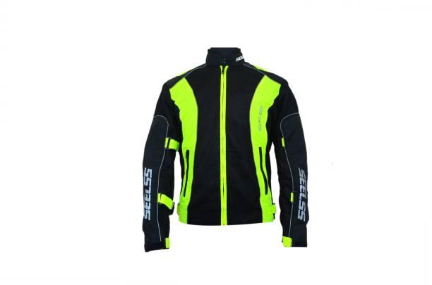 SEELSS KK 14025-neon green-XL Riding Protective Jacket
