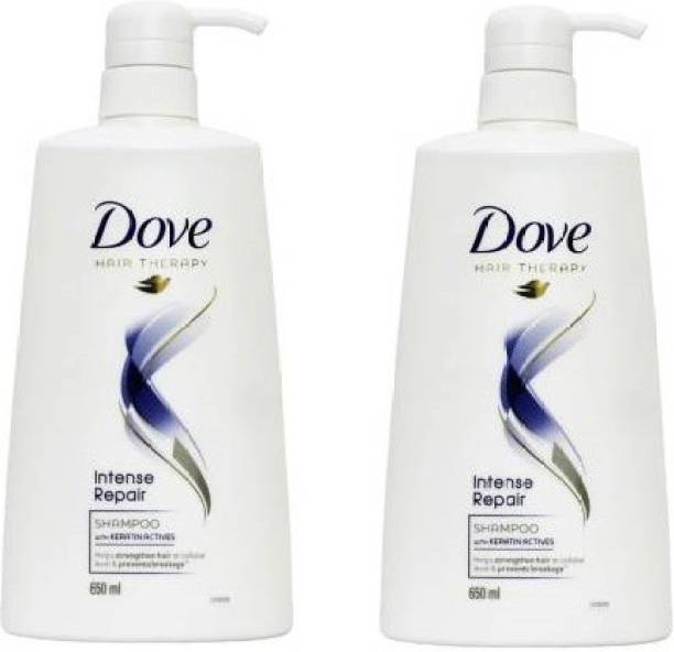 DOVE Intense Repair Shampoo Men & Women combo pack 2 (650 ml)