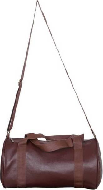 VISTA brown gym bag(Brown, Kit Bag)