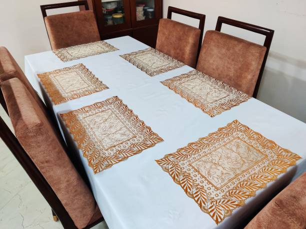 Groki Rectangular Pack of 6 Table Placemat