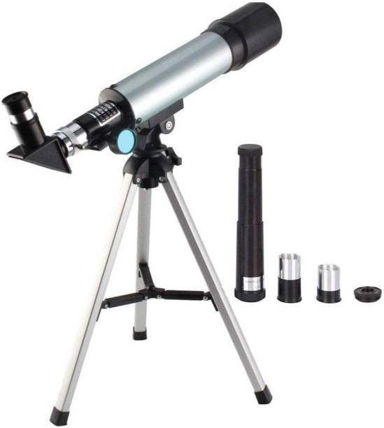 GORLERA 90X Zoom Astronomical Land and Sky Refractor Telescope Optical Glass Metal Tube with Tripod Refracting Telescope