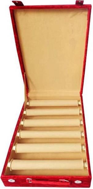 Little one Multipurpose Six Rods bangle storage Vanity Box Pack of 1 Pc Vanity Box Vanity Box