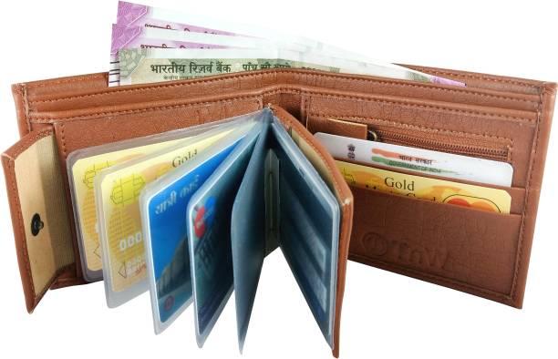 SnW Enterprises Men Casual Tan Artificial Leather Wallet