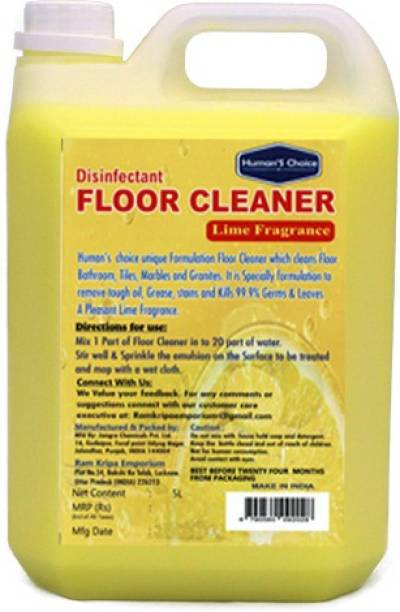 Humans choice Floor Cleaner 5 L Lime fragrance
