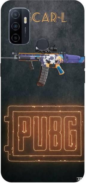 Snapcrowd Back Cover for Oppo A53 Pubg Scra-l Gun back cover