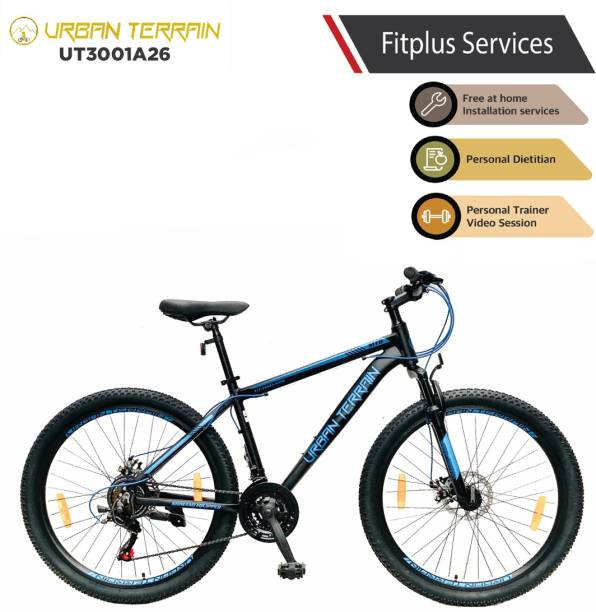 Urban Terrain UT3001A26 Alloy MTB with 21 Shimano Gear and Installation services 26 T Mountain/Hardtail Cycle
