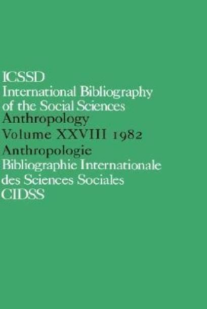 IBSS: Anthropology: 1982 Vol 28