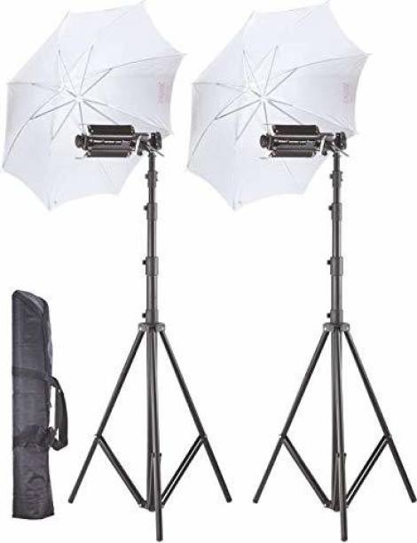 WON PORA KIT LIGHT UMBRELLA SET 1000 lx Camera LED Light