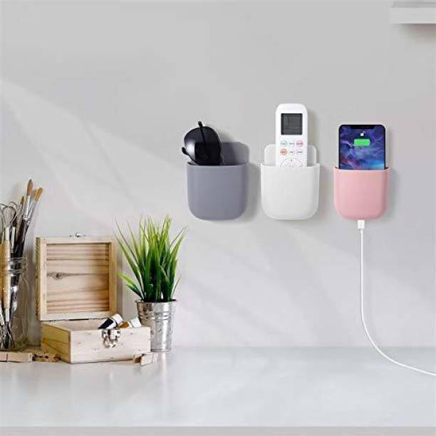 EMPIRE Wall Mounted Storage Box Remote Control Storage Organizer Case for Air Conditioner TV Mobile Phone Plug Holder Stand Rack Bike Mobile Holder