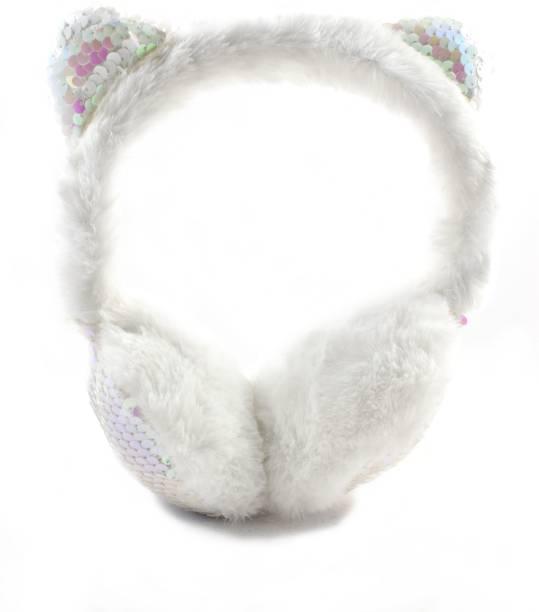 DiVom Latest Style Cute Winter & Outdoor Adjustable Ear Muffs Ear Warmer Mickey Style for Girls and Women Ear Muff