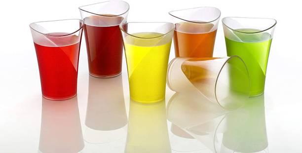 AMAR IMPEX (Pack of 6) BEVERAGE GLASS SET OF 6 Glass Set