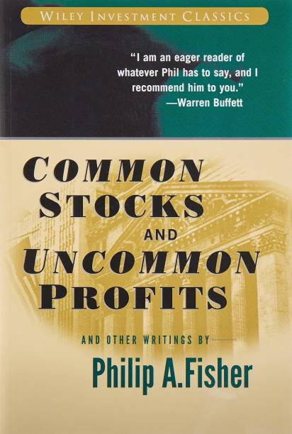 Common Stocks And Uncommon Profits And Other Writings Generic Paperback With SpaceHaven Bookmark