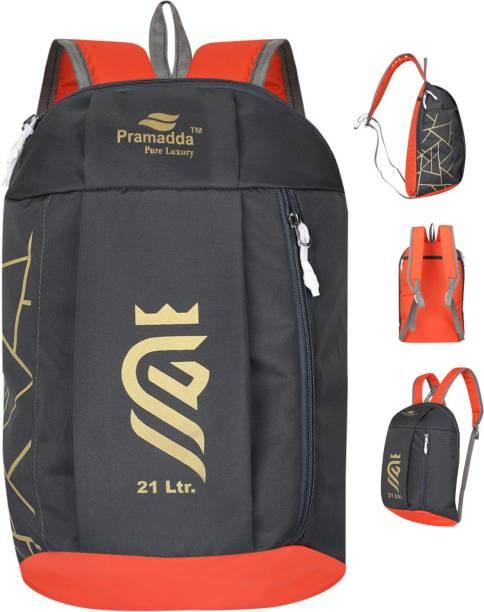 Pramadda Pure Luxury Classic Multipurpose 21 L Sport Gym Kit Bag Backpack For Men & Women.