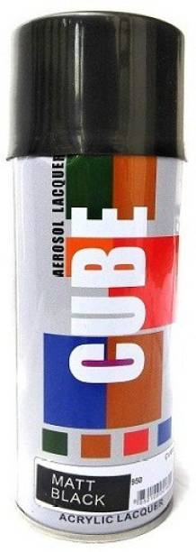CUBE Black Spray Paint 450 ml