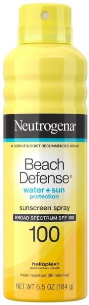 NEUTROGENA beach defense water+sun sunscreen spray spf 100 ( 184 G ) - SPF 100