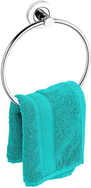 Strength TBDE0076 Standard Grade Stainless Steel Towel Ring for Bathroom/Wash Basin/Napkin-Towel Hanger/Bathroom Accessories (Chrome-Round) - Pack of 1 Pcs SILVER Towel Holder