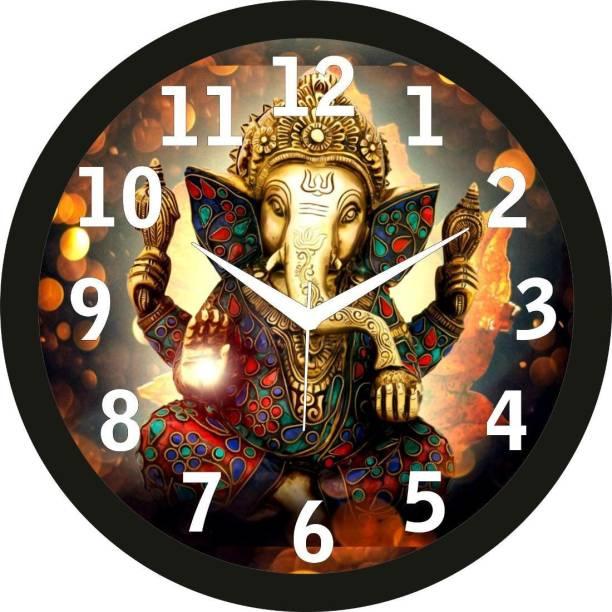 Crafts World Analog 27.95 cm X 27.95 cm Wall Clock