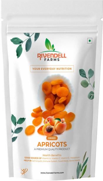 Rivendell Farms Dried Apricots Good Source of (Vitamin A ,Vitamin C & Vitamin K Potassium) A Premium Quality Dried Fruits. Apricots