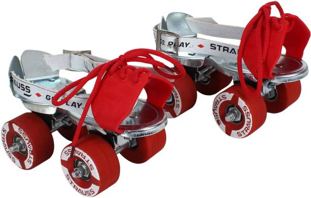 Strauss Tenacity Quad Roller Skates - Size Adjustable UK