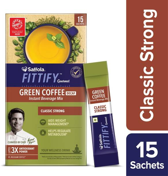 Saffola Fittify Gourmet Classic Strong Instant Coffee
