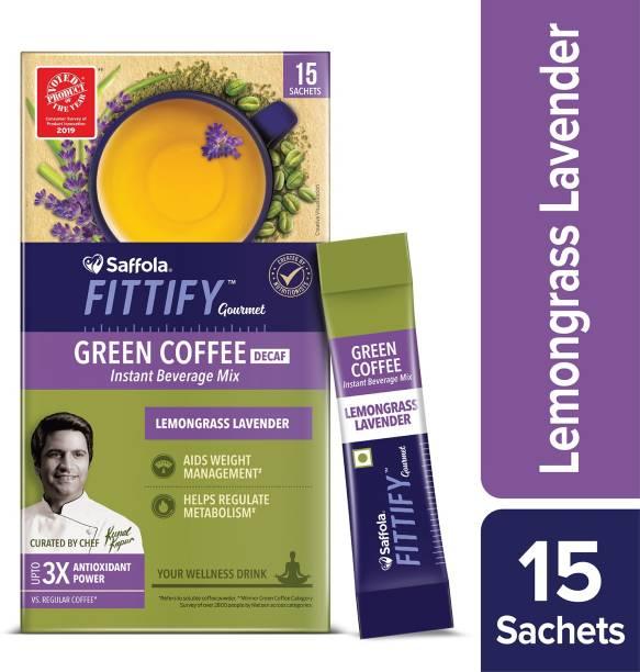 Saffola Fittify Gourmet Lemongrass Lavender Instant Coffee