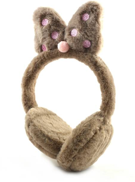 DiVom Latest Style Cute Winter & Outdoor Adjustable Ear Muffs Ear Warmer Minnie Style for Girls and Women Ear Muff