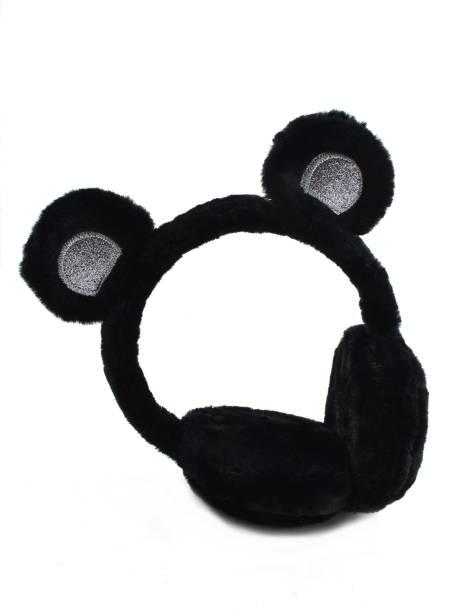 DiVom Latest Style Cute Winter & Outdoor Adjustable Ear Muffs Ear Warmer Bear Style for Girls and Women Ear Muff