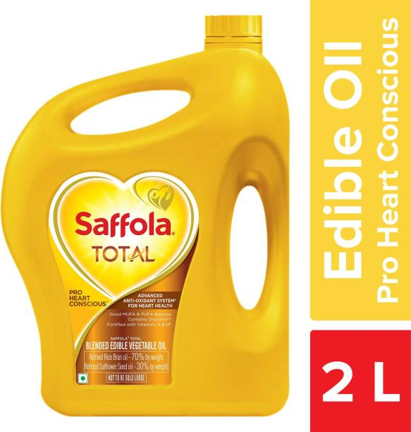 Saffola Total Pro Heart Conscious Blended Oil Can