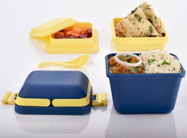 Khunt Enterprise Lunch Boxes 3 Containers Lunch Box