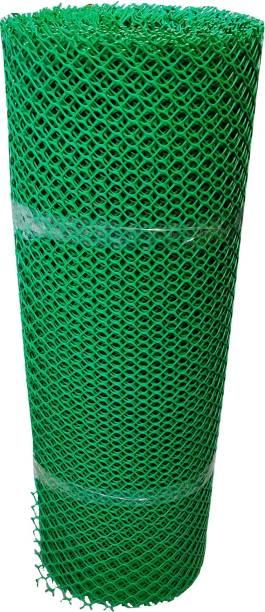Sai Balaji Enterprises PVC Garden Fencing Net_Mesh (3.3feet Height /10feet Length) UV Stabilized 800 GSM Anti Bird Net Green Color with Free 1 Cutter,50 PVC Tags MN:02 Portable Green House