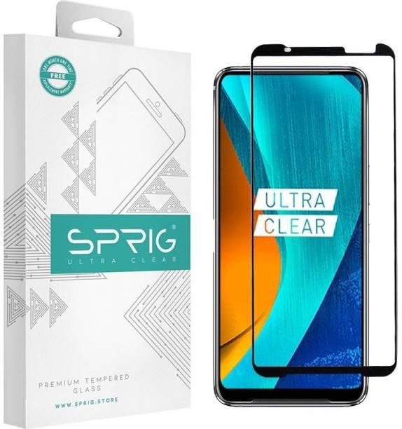 Sprig Tempered Glass Guard for Asus ROG Phone 3, Asus ROG 3