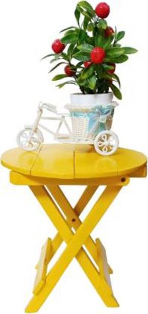 fara Creation Solid Wood Side Table