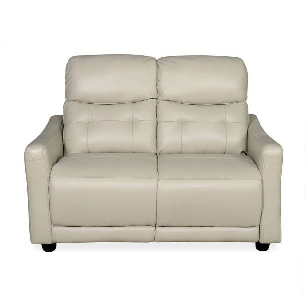 @Home by nilkamal Vanity Leather 2 Seater  Sofa